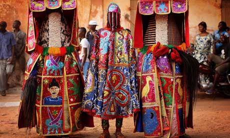 Benin : A voodoo ceremony in Ouidah