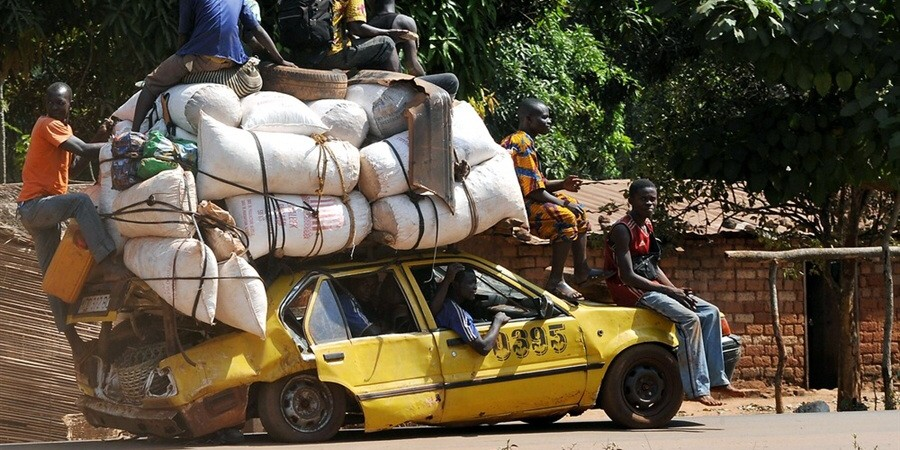 Central African Republic, highly unstable resource-rich country!