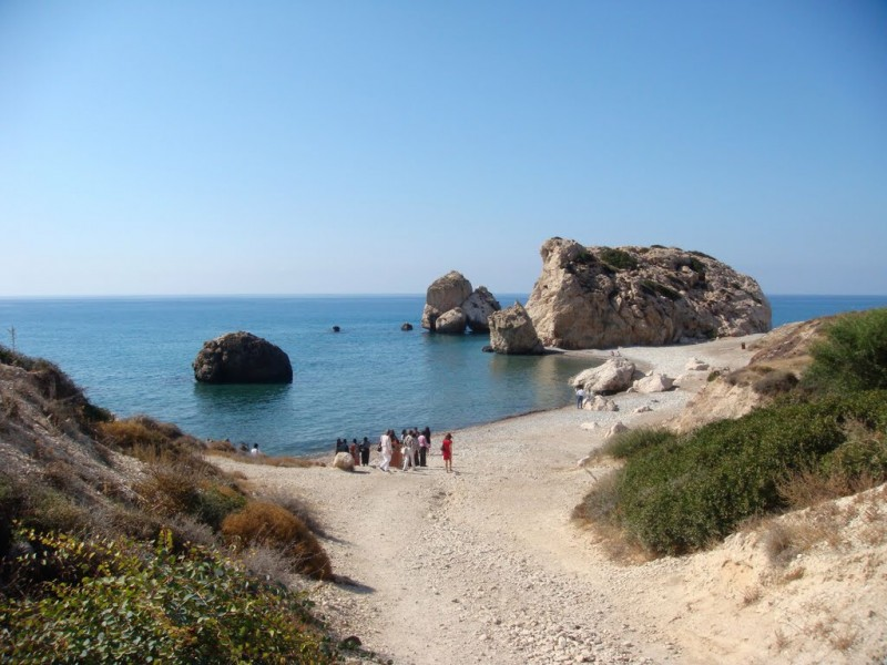 Cyprus: Aphrodite Beach ... Photo panoramio.com