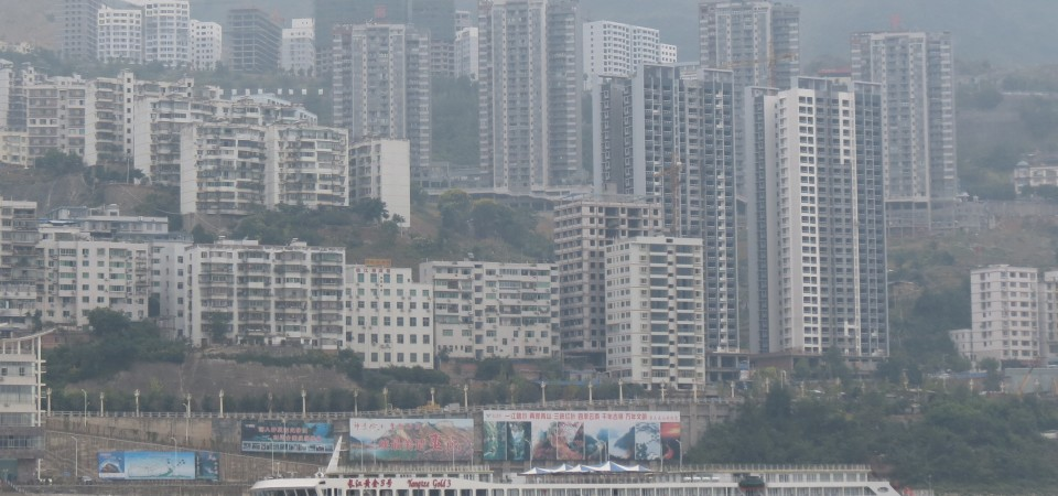 Cruise Ships : the Yangtze Gold One !