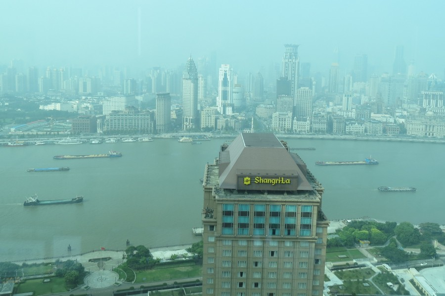 Yichang to Shanghai .... and our home away from home at the Pudong Shangri-La Hotel