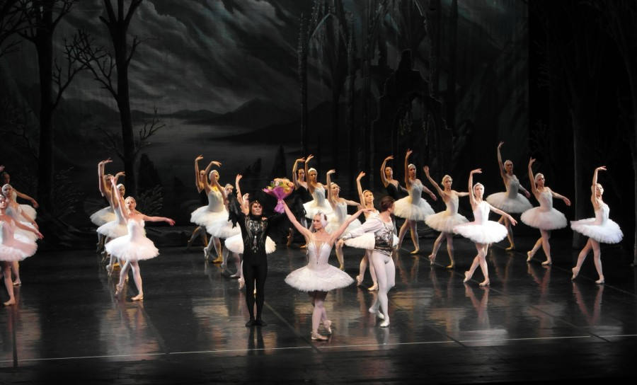 St. Petersburg, Russia ~ Swan Lake at the Alexandriinsky Theatre