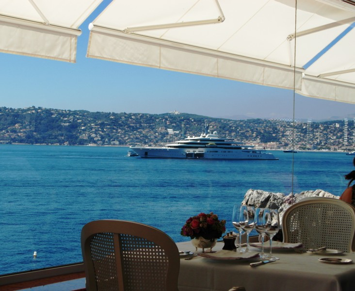 Eden Roc : Lunch at the Hotel Cap Eden Roc in Antibes