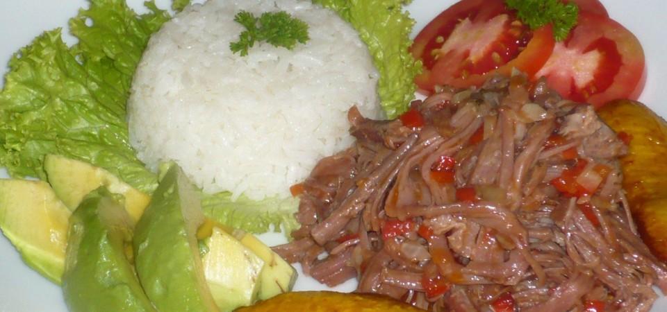 BEST of Cuba food : Ropa vieja!