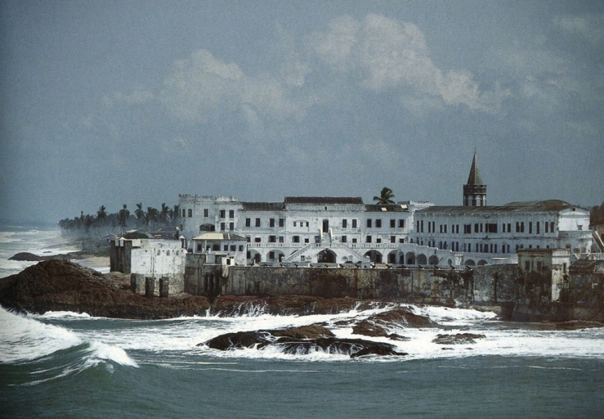 Countries of the World : Cape Coast Castle in Ghana - photo www.negroartist.com
