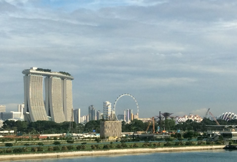 Singapore boasts the world's most expensive building, the Marina Bay Sands Resort