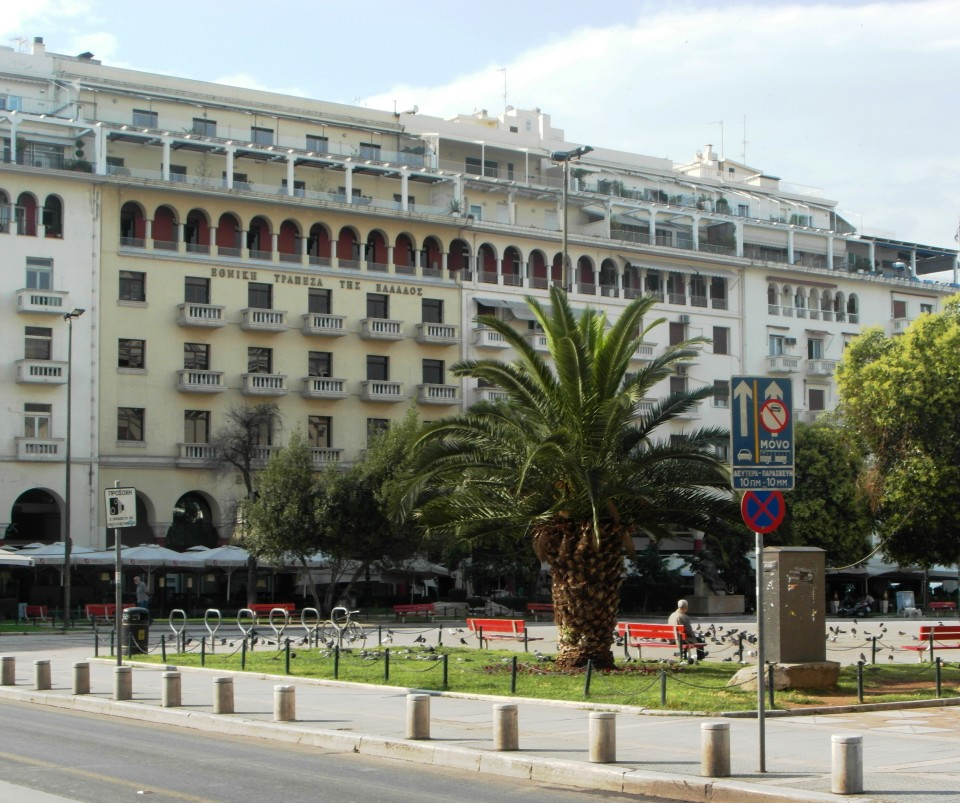 Thessaloniki at Aristotelou Square