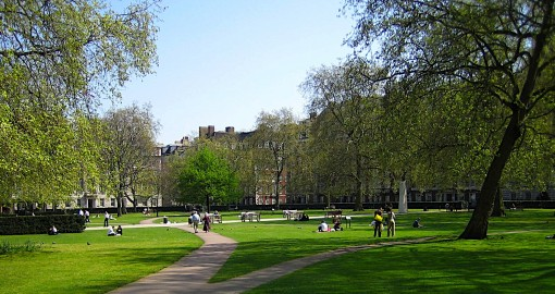 Grosvenor Square in Mayfair - London (photo Stay.com)
