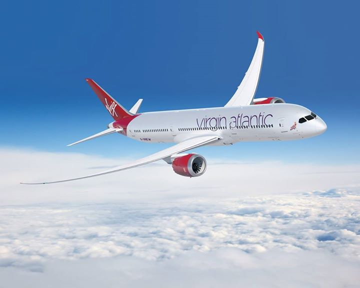 Washington to London on Virgin Atlantic new Boeing 787-900 Dreamliner