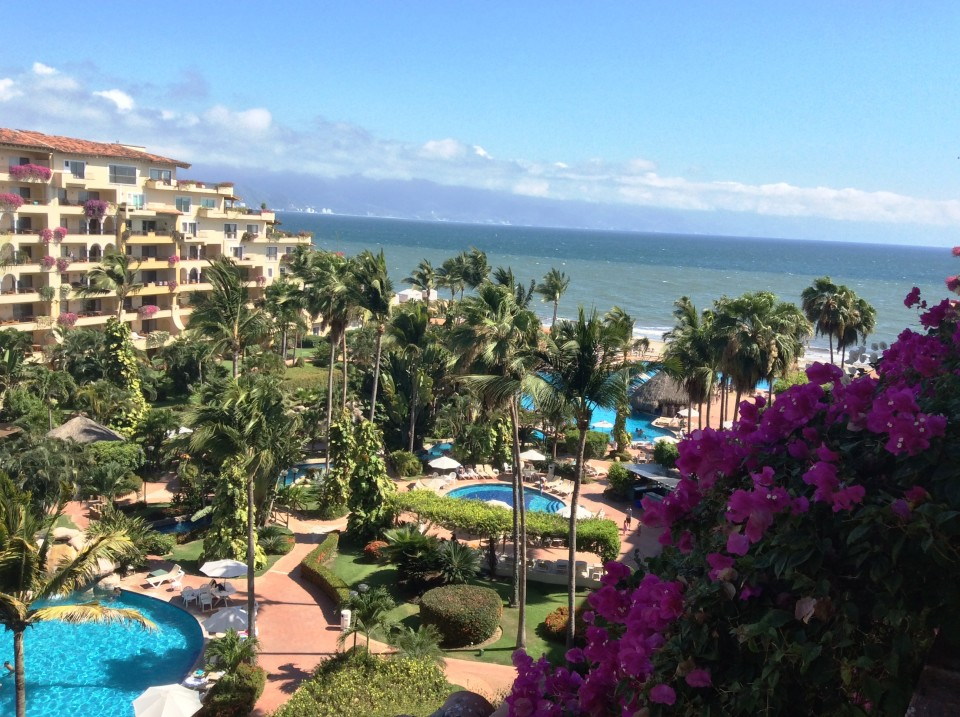 Velas Vallarta Resort in Puerto Vallarta - Balcony View