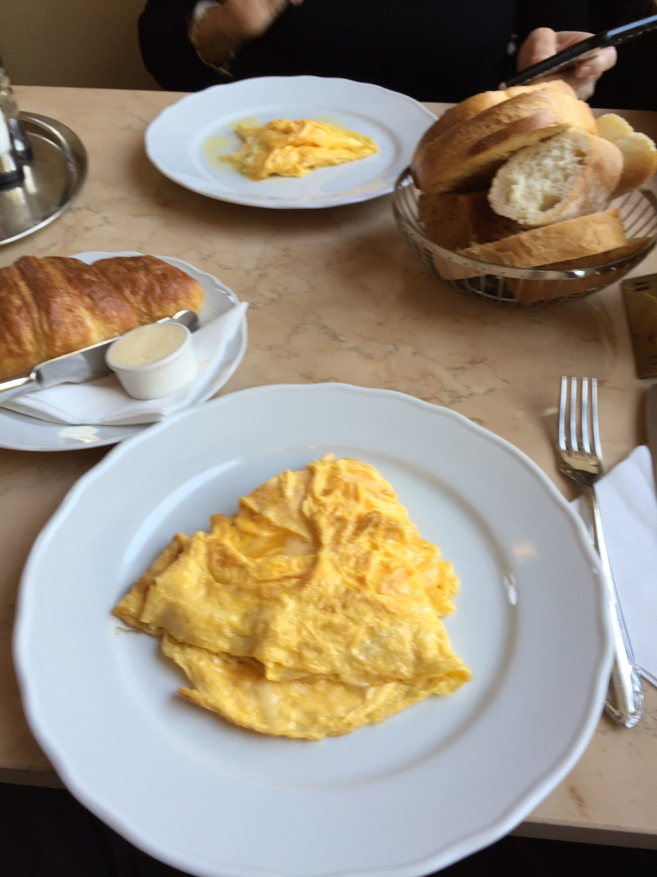 Cafe Savoy in Prague - the Cafe Savoy Omelet !
