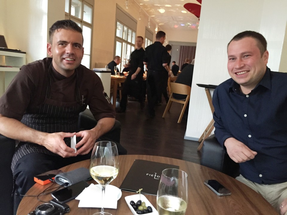 Field Restaurant in Prague : Executive Chef Radek Kasparek and Restaurant Manager Miroslav Nosek