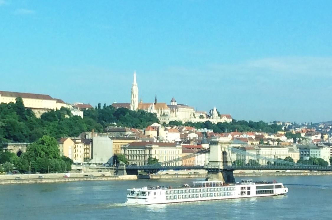 Viking River Cruises - Viking Longship in Budapest