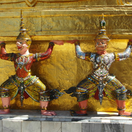Bangkok - a fascinating part of a typical South East Asia cruise itinerary !