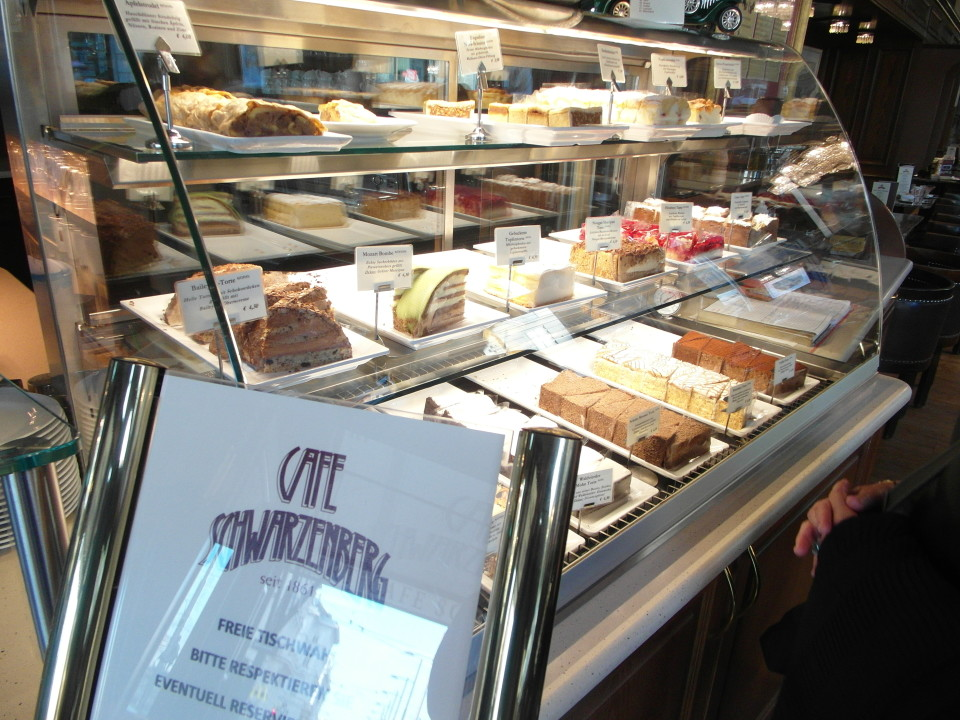 Vienna cafes and coffee houses : Cafe Schwarzenberg