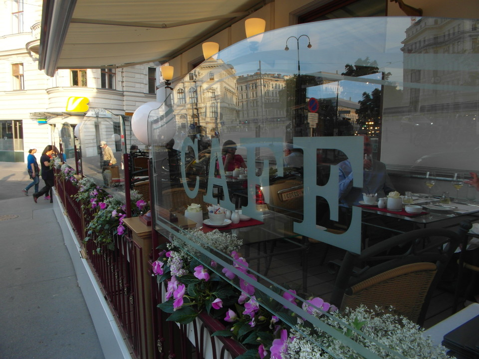 Vienna cafes and coffee houses : Cafe Imperial