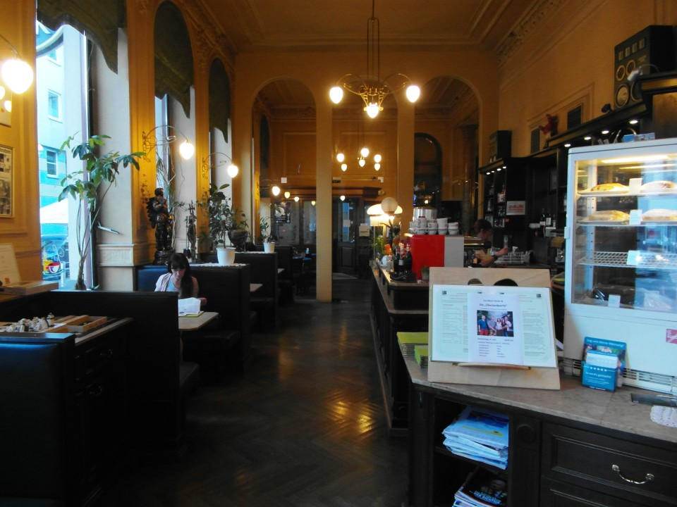 Vienna cafes and coffee houses : Cafe Ritter