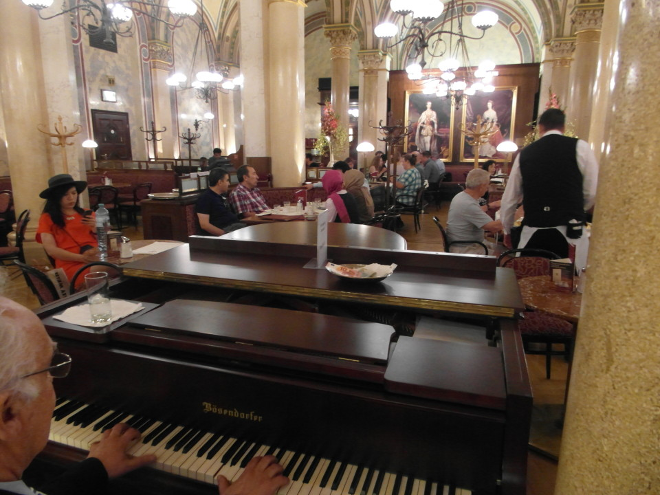 Vienna cafes and coffee houses : Cafe Central