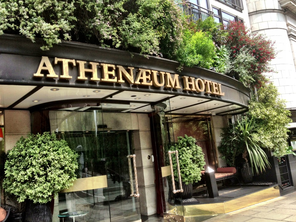 Athenaeum Hotel and Apartments in London, England