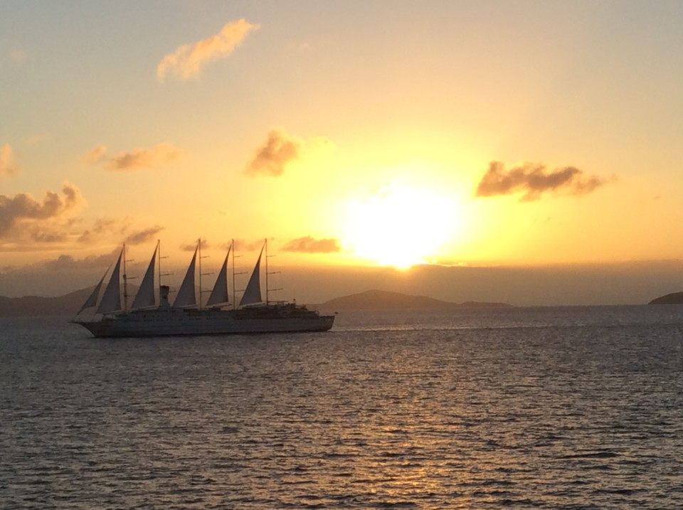 Yacht Cruising the Caribbean in luxury with Windstar Cruises