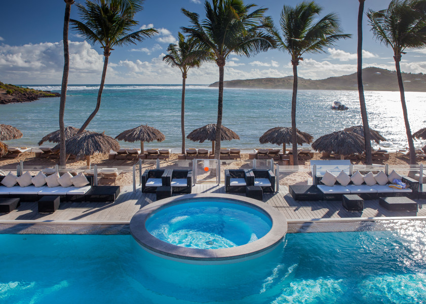 Le Guanahani an exquisite resort on tres chic St Barth