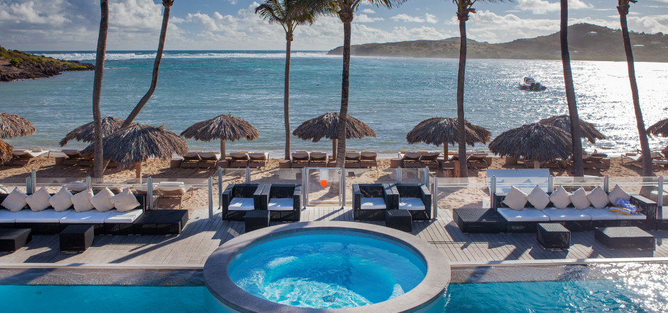 Le Guanahani, exquisite resort on très chic St. Barth