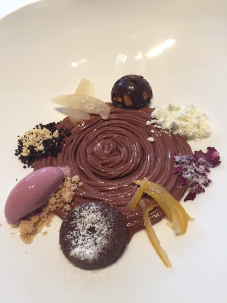 Jean-Georges' Chocolate Tasting Plate (of splendors)