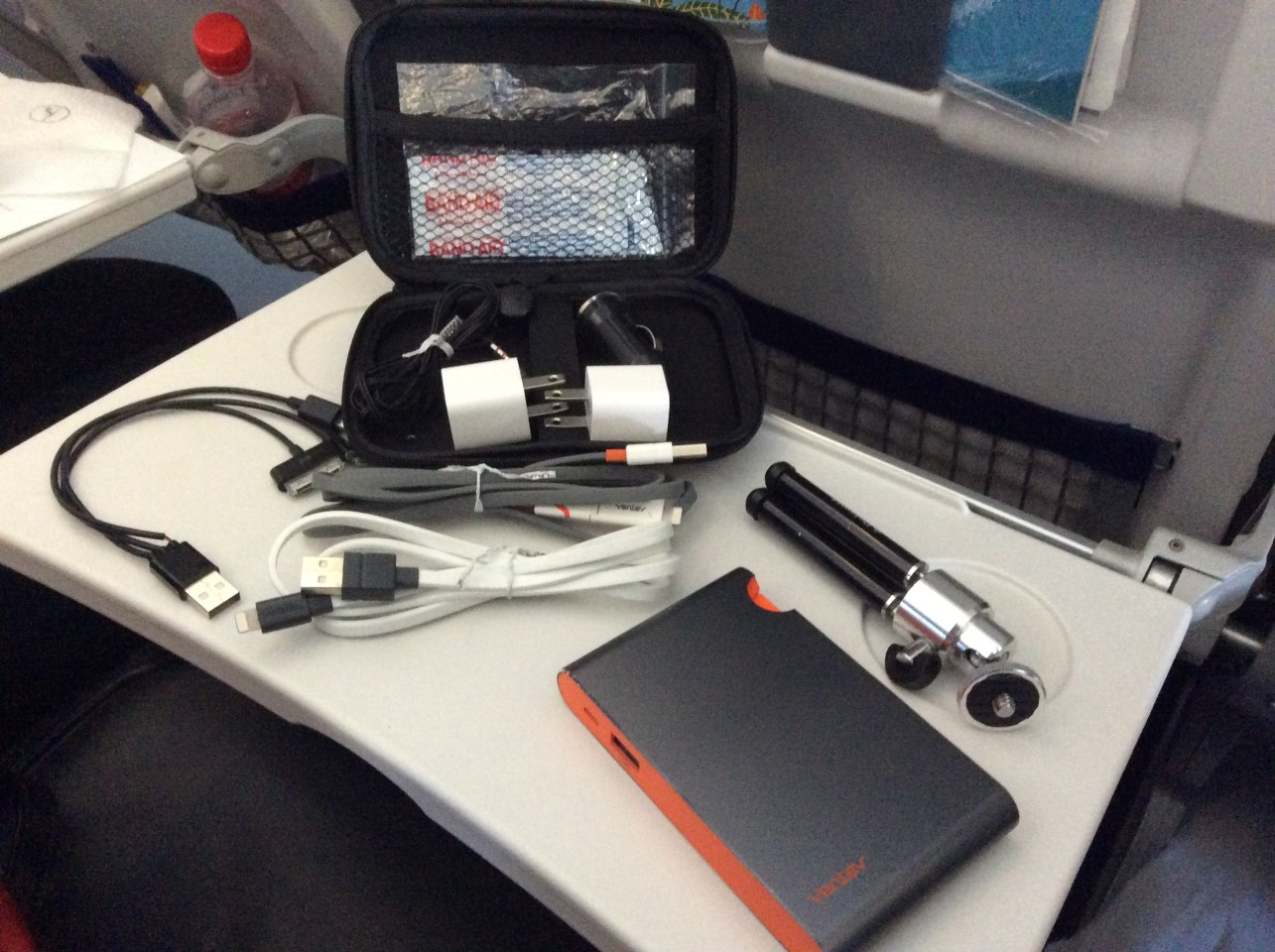The Art of Travel Preparation ~ What's in my travel bag? Ventev mobile accessories and battery chargers are a must for us