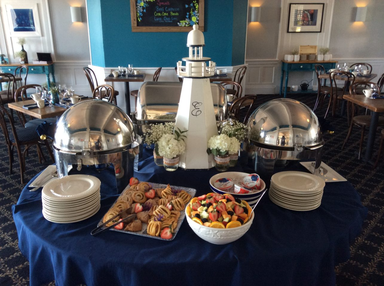 Emerson Inn by the Sea : Breakfast Welcome