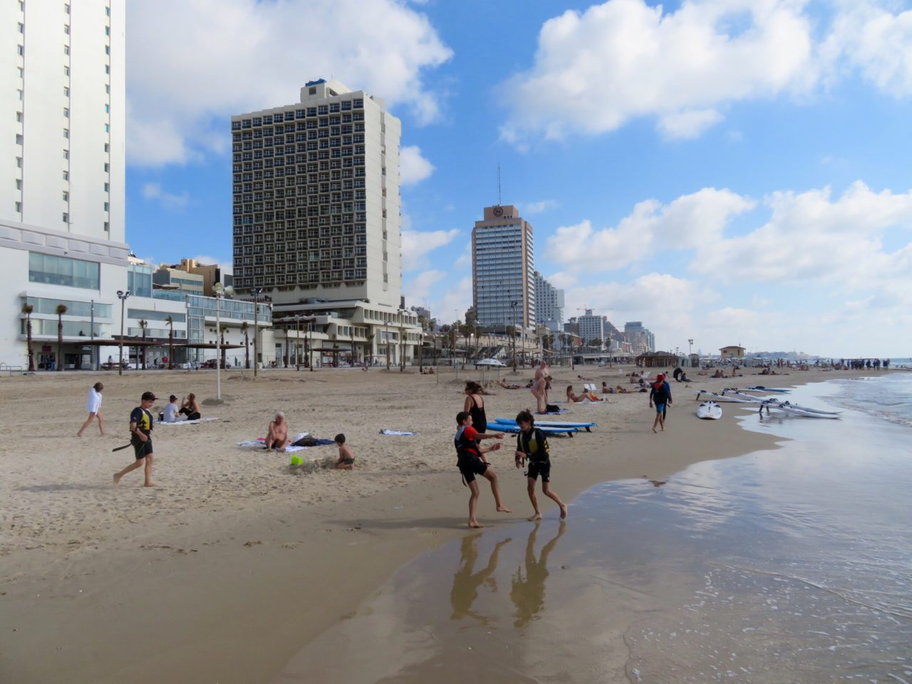Tel Aviv Beach : Gordon Beach