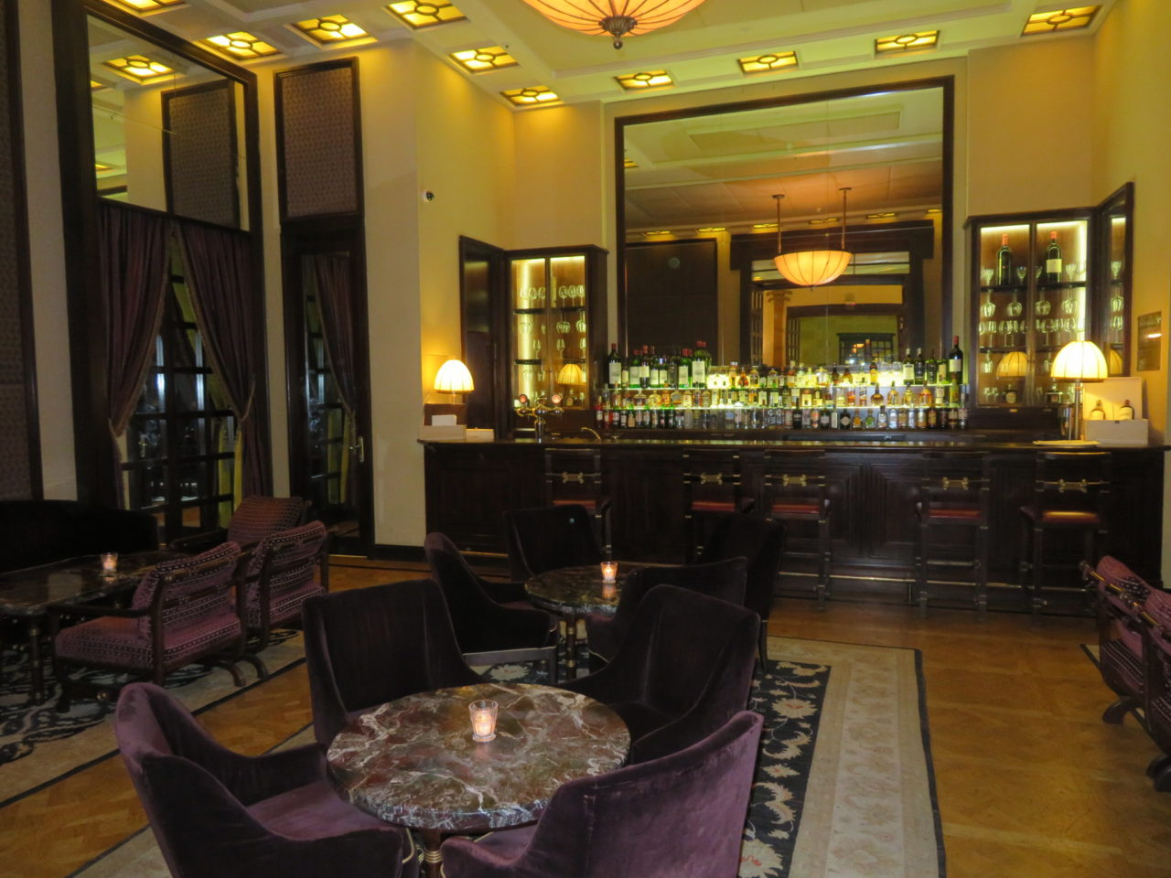 King David Hotel, Jerusalem Israel - The Lobby Bar