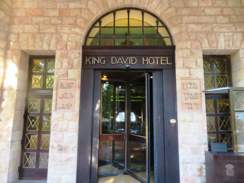 King David Hotel, Jerusalem Israel