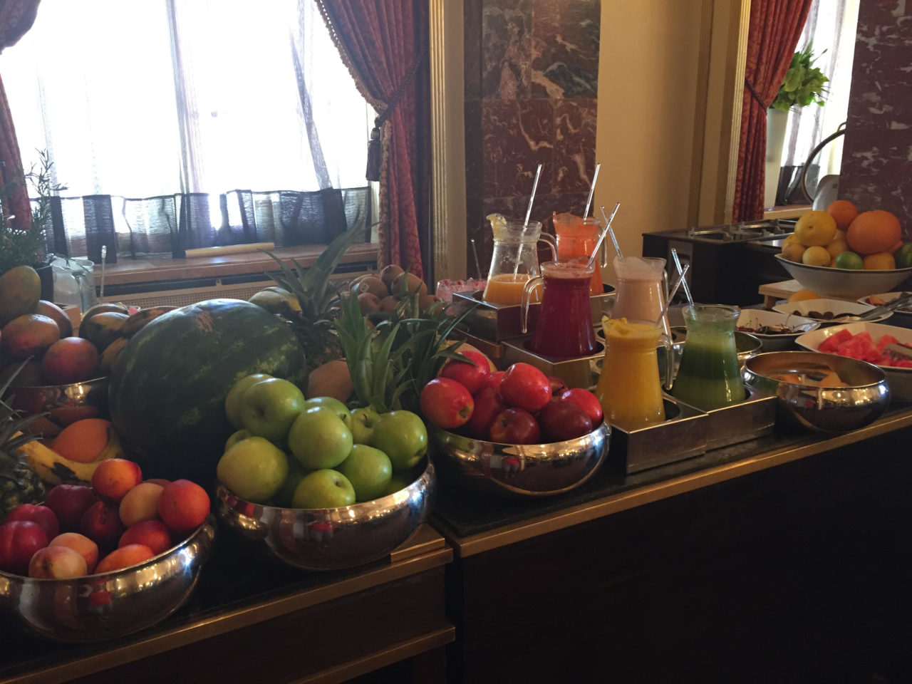 King David Hotel, Jerusalem Israel - Savor a fresh healthy breakfast