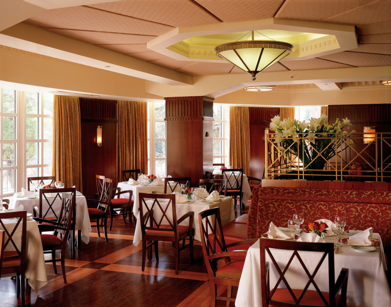 La Regence fine dining restaurant at King David Hotel in Jerusalem Israel