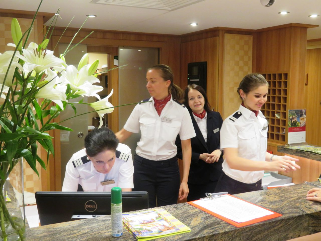 Superb and personalized service was a highlight of our cruise aboard the Viking Akun river cruise ship in Russia