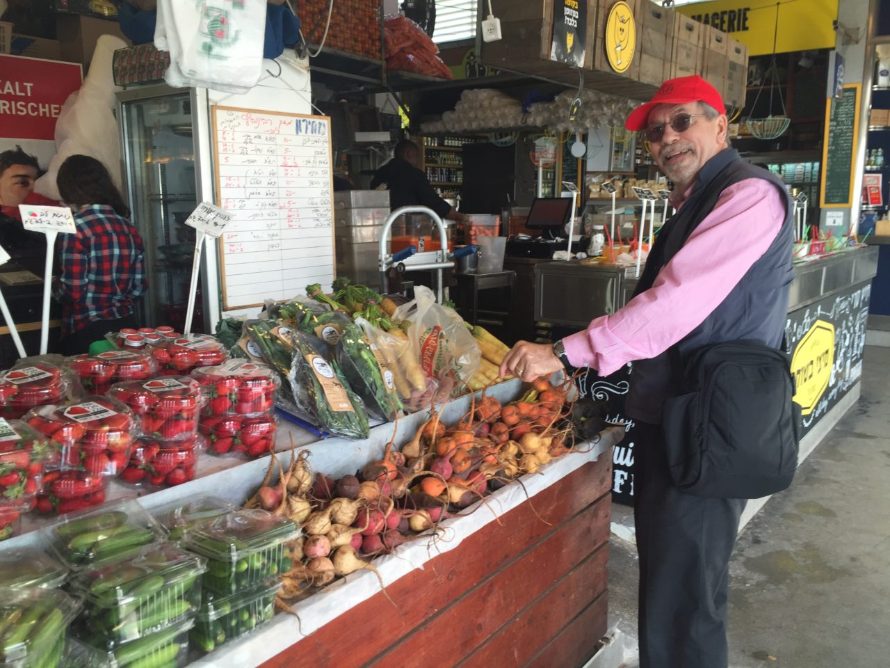 Vacationing in Israel ... The Kitchen Market in the old port of Tel Aviv
