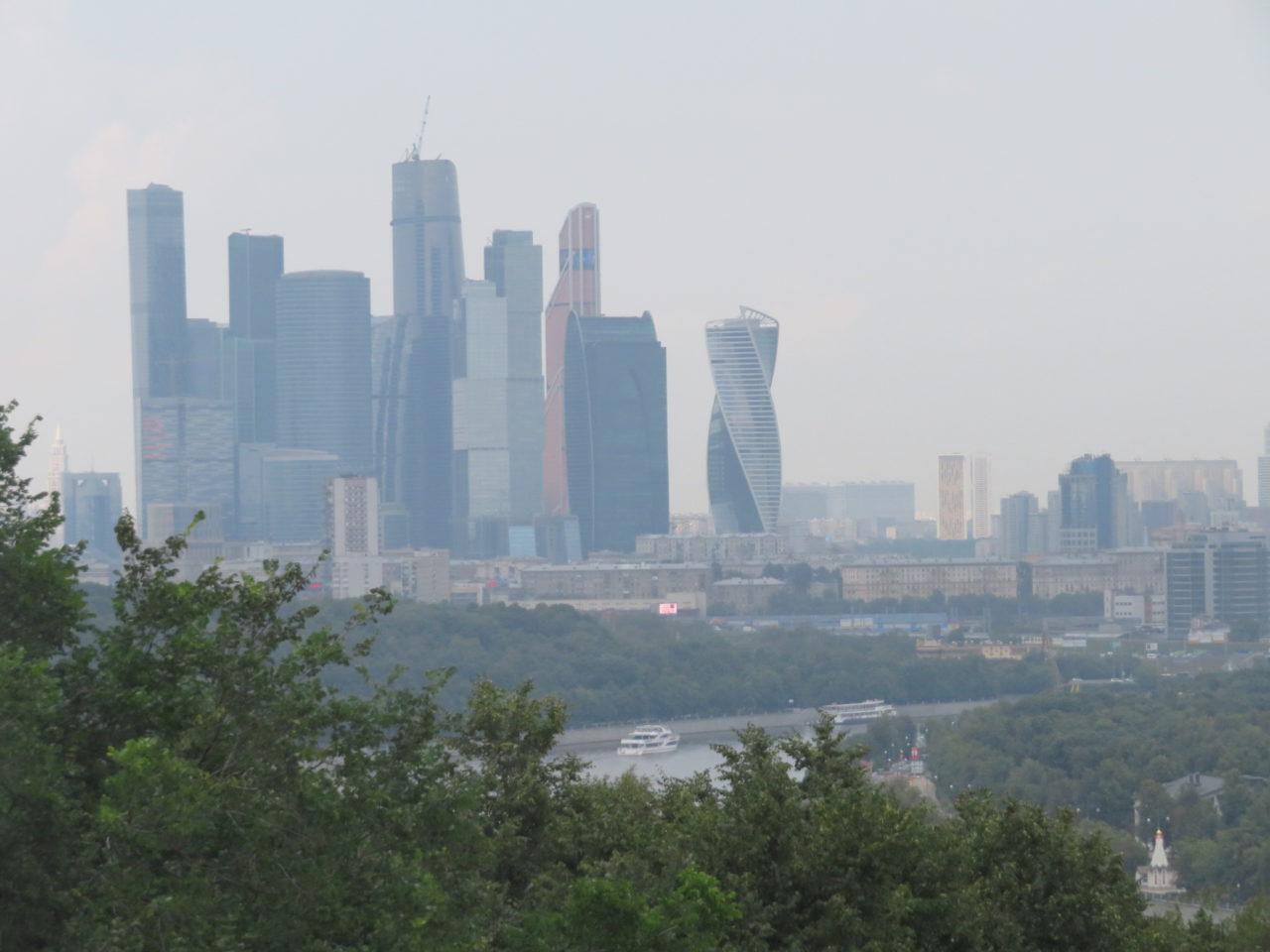 Moscow: Now a World-Class Destination ~ The skyline of the new Moscow