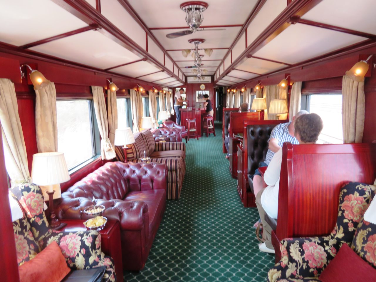 The lounge car aboard <strong>Rovos <em>Rail</em></strong>