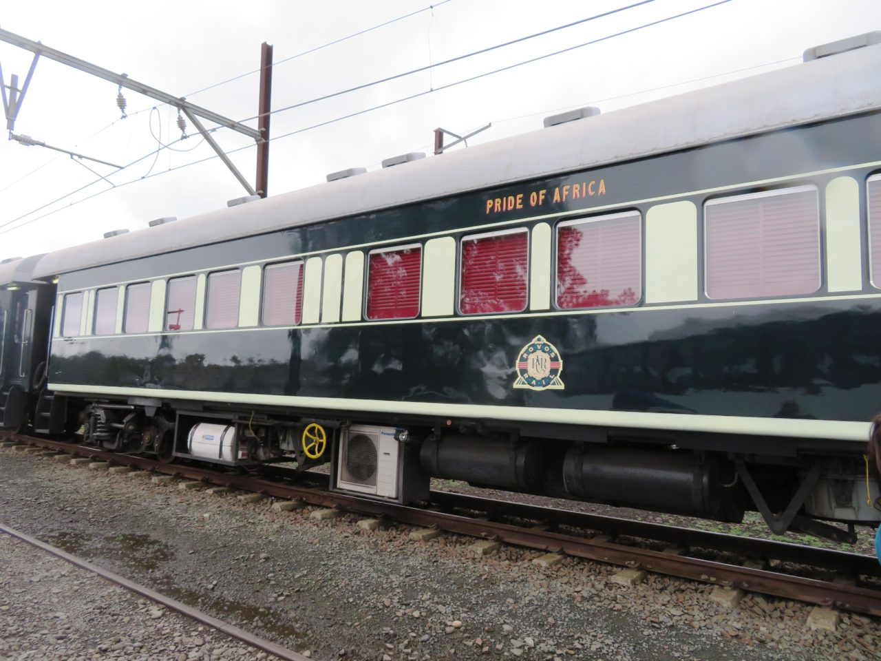 The <strong>Rovos <em>Rail</em></strong> <em>Pride of Africa</em> train is hailed as the most luxurious train in the world!