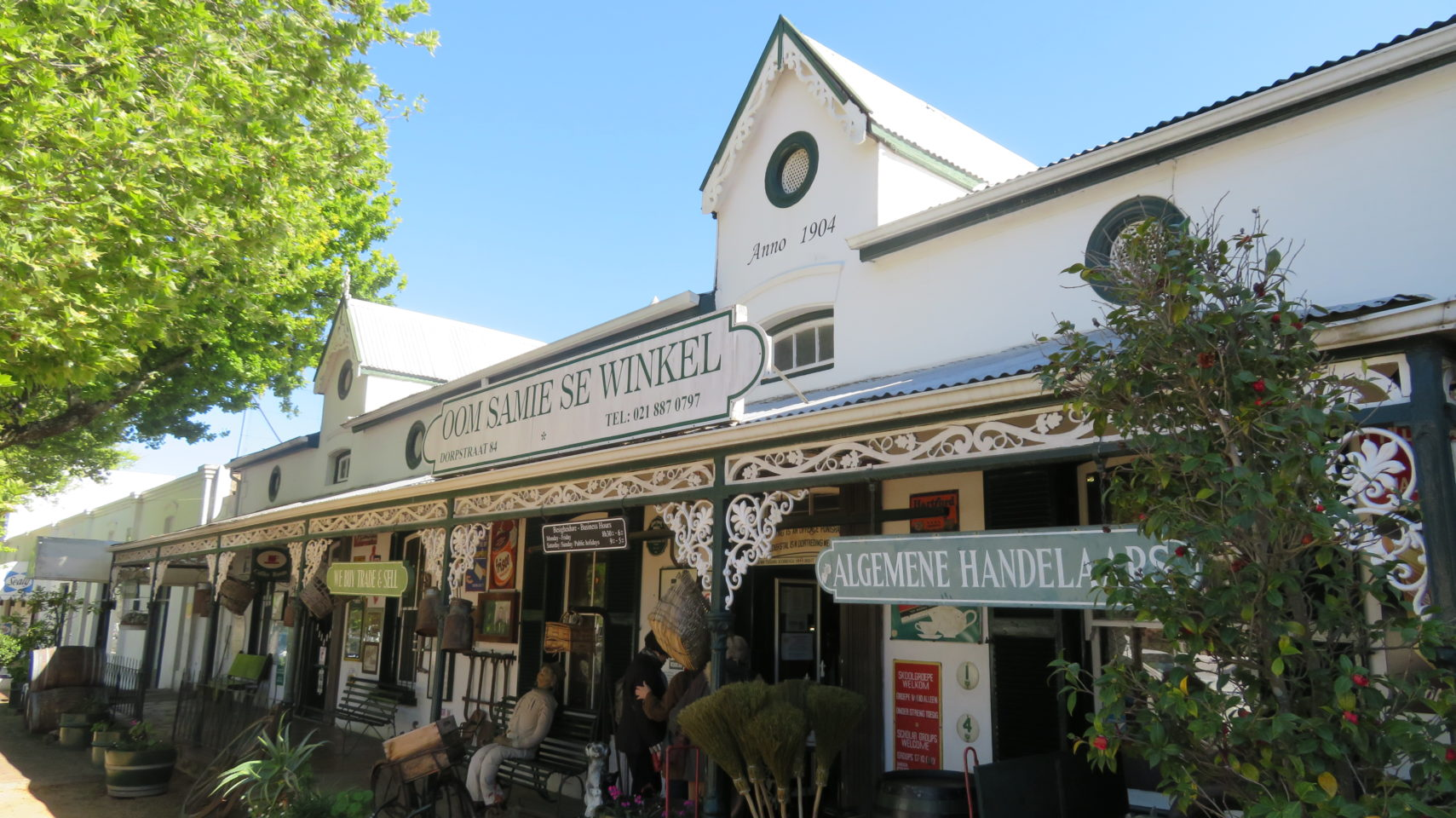 The town of Stellenbosch, South Africa