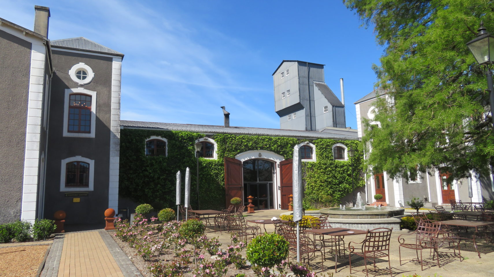 Van Ryn's Distillery in Stellenbosch, South Africa