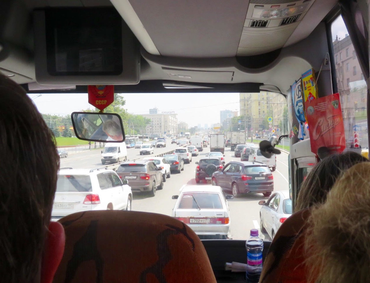 Moscow: Now a World-Class Destination ~ Morning rush hour in Moscow