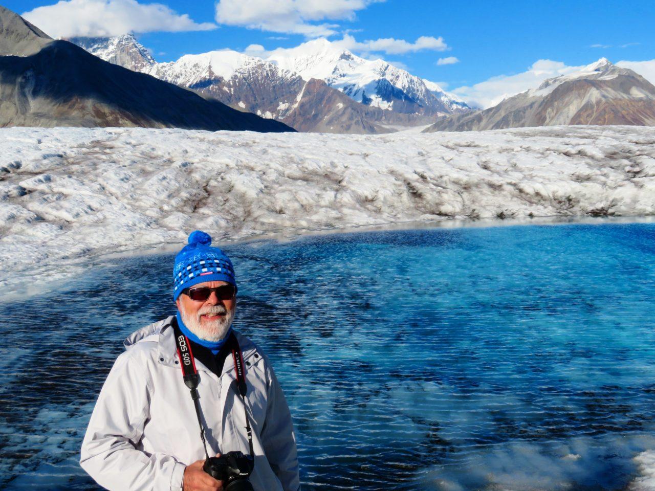Glacier walk during our Alaska Cruise with Princess Cruises