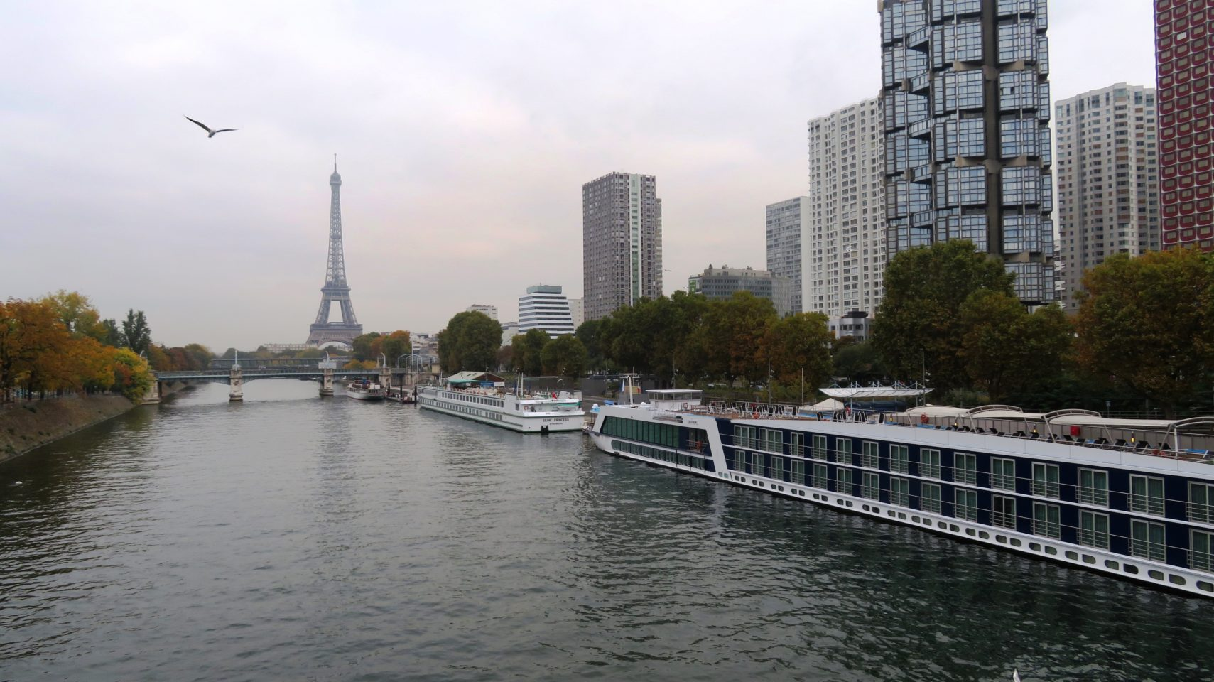 AmaLegro River Cruise Ship Docked in Paris, France ~ Paris and Normandie AMAWaterways Cruise