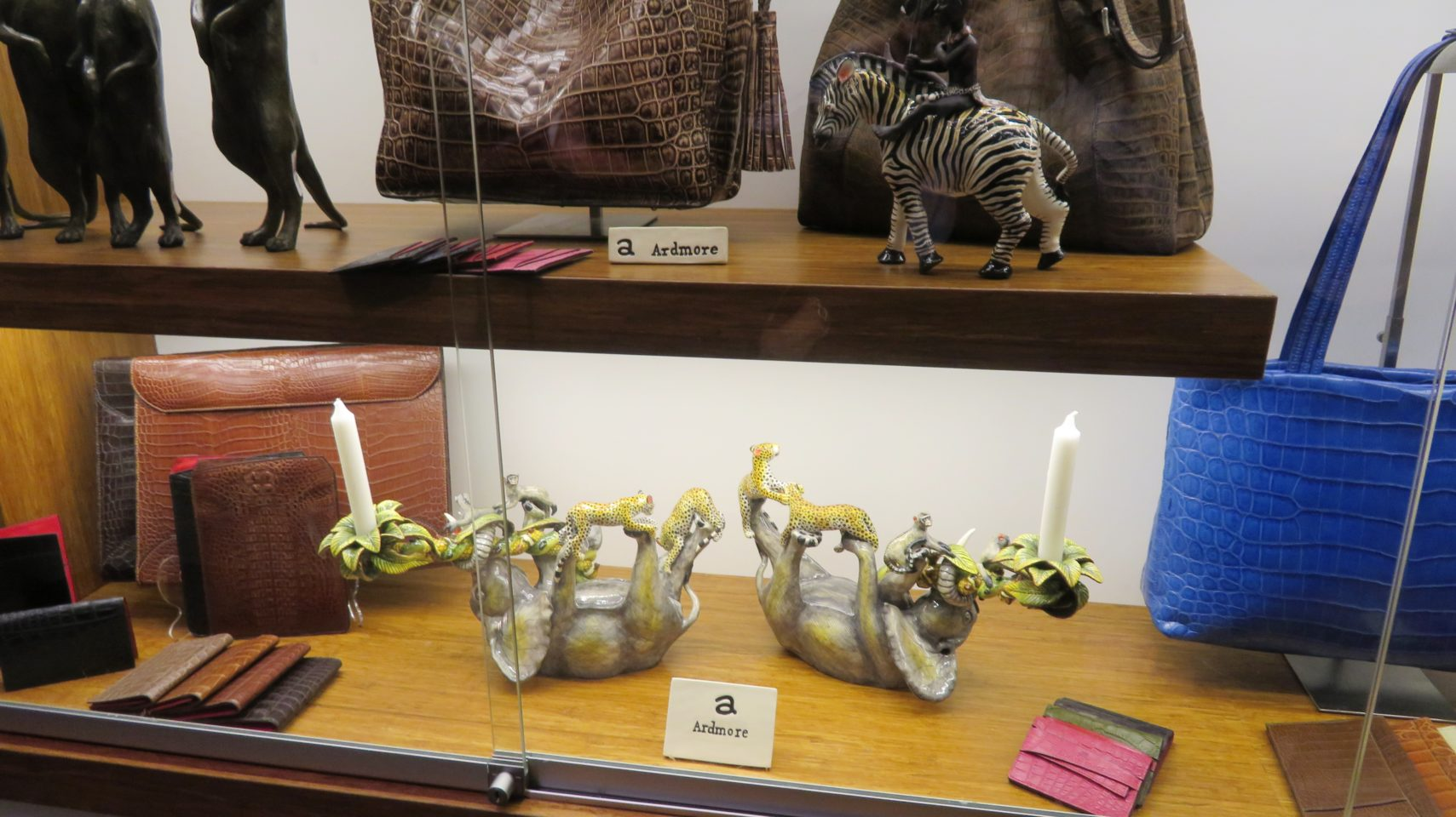 South African products at the gift shop of the Cape Grace Hotel