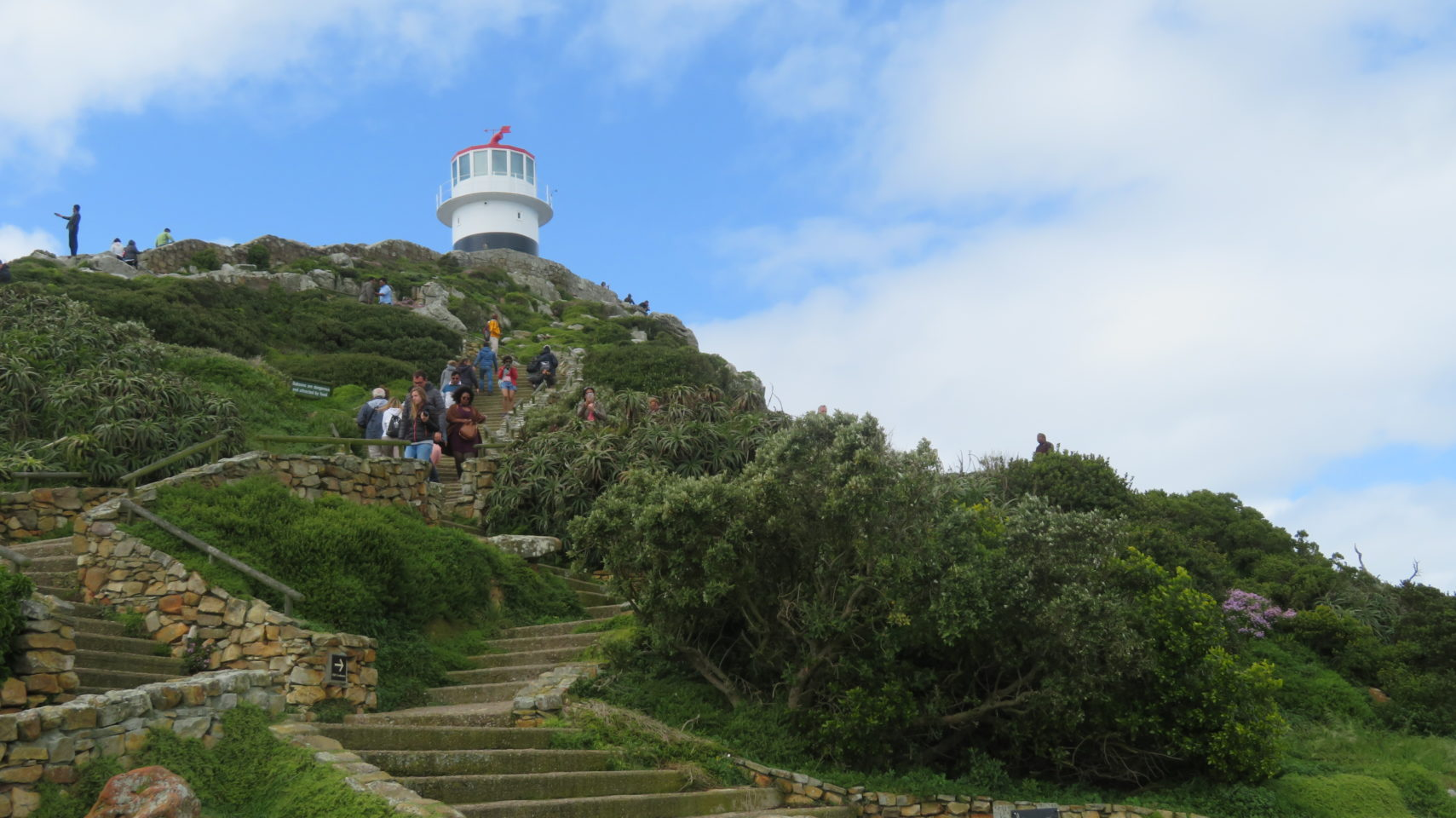 The LIghthouse at Cape Point ~ Cape Peninsula in Cape Town, South Africa
