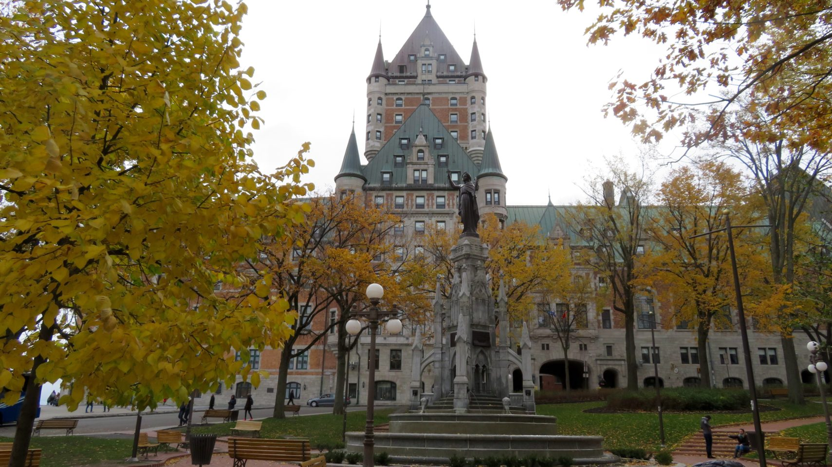 Fairmont Le Chateau Frontenac in Quebec City, Quebec, Canada