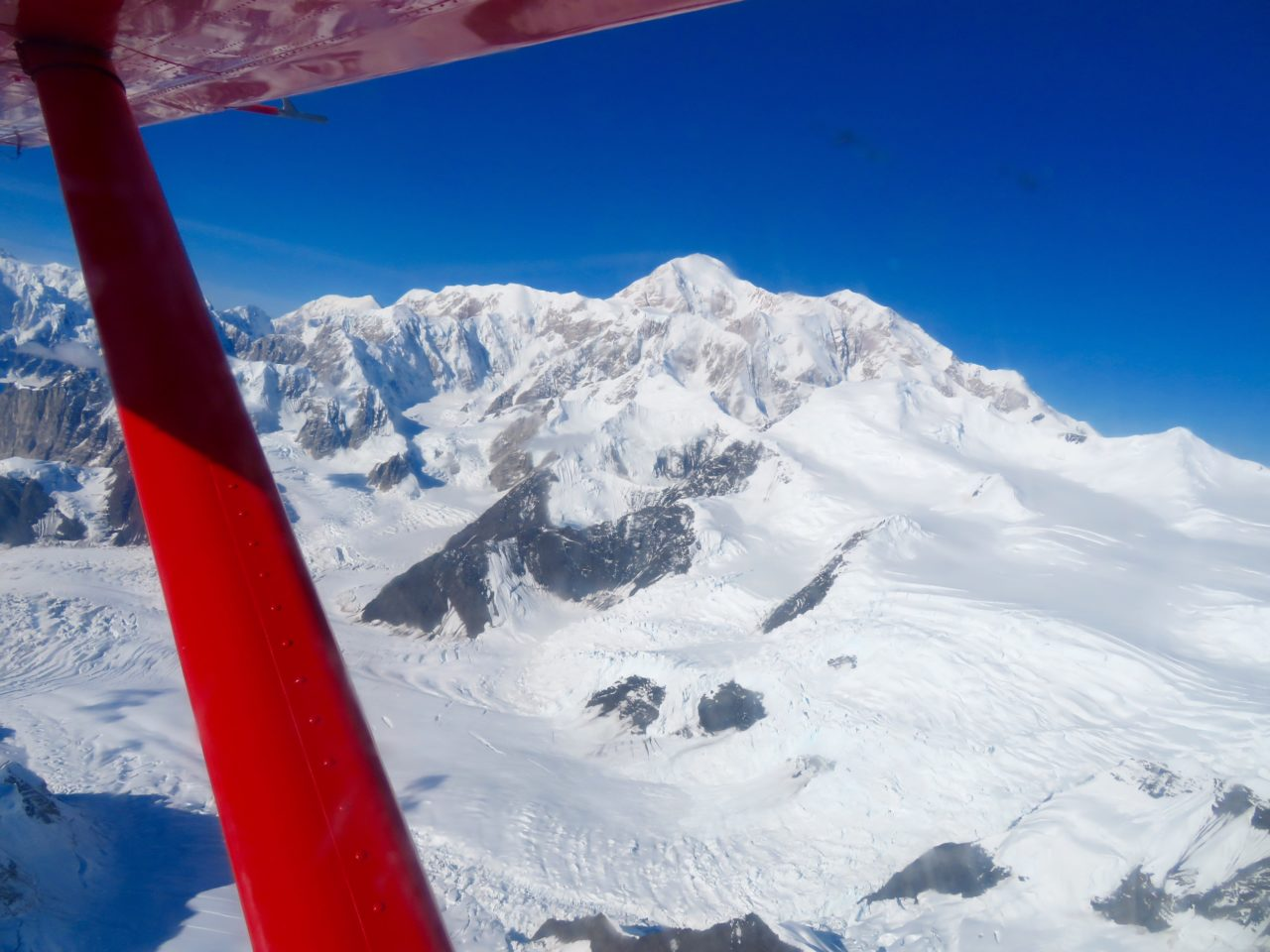 Flying around Denali ~ Alaska Cruise Tour