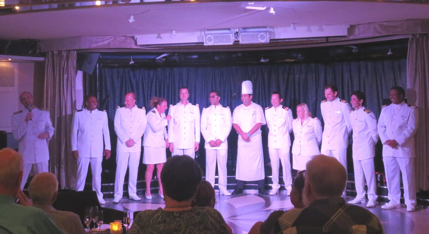 Windstar Cruises ~ The warm and friendly Star Legend Senior Officers