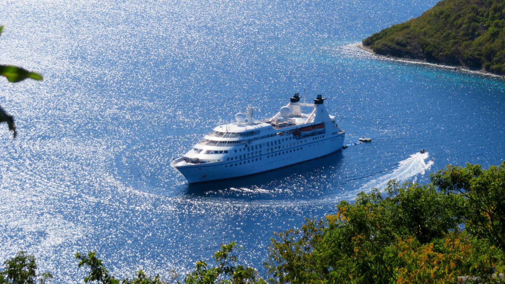 Windstar Cruises ~ the luxurious Star Legend where I slept like a baby